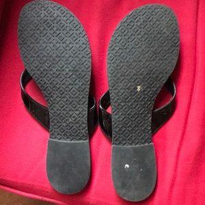 Tory Burch Shoes - Tory Burch black sandals size 8